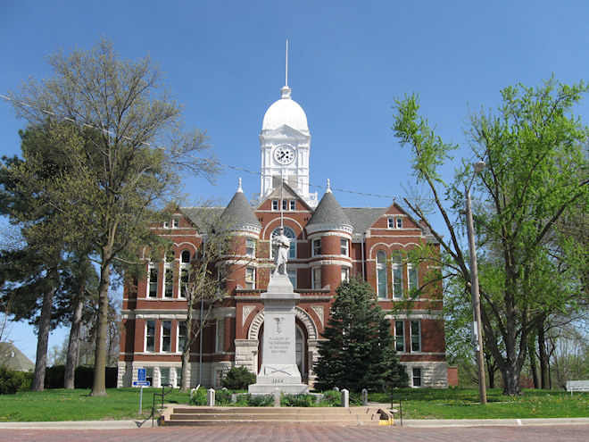 Taylor County Courthouse Brian Mcmillin